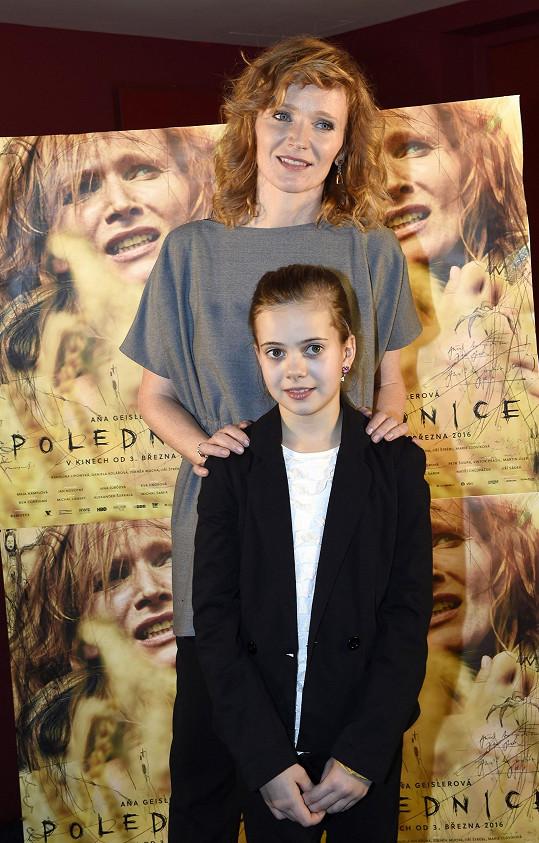 S filmovou dcerou