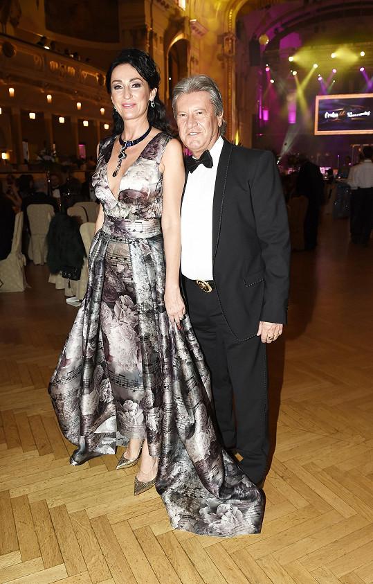 S manželem Jurajem Lelkešem