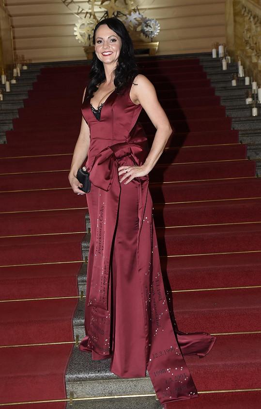 Veronika Blažková v modelu Poner
