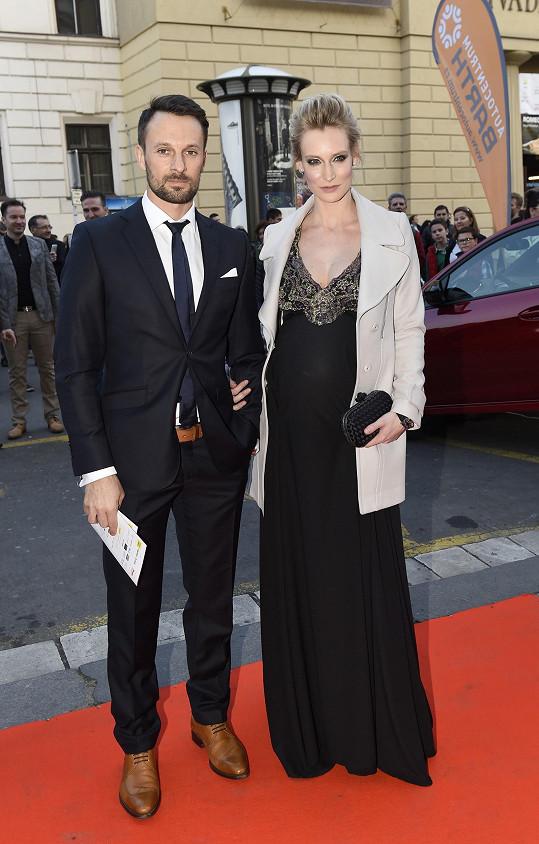 Barbora Vida s manželem Přemkem