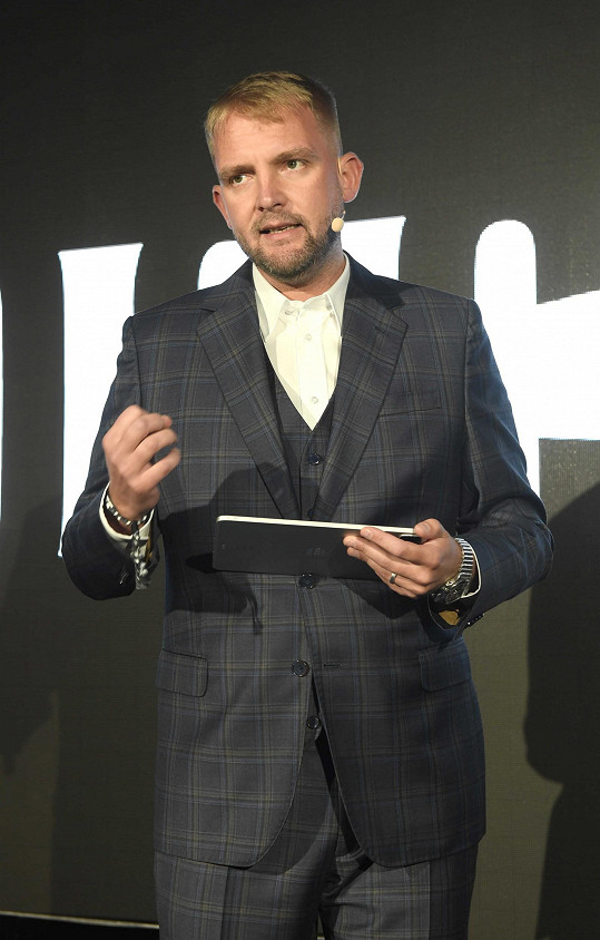 Libor Bouček figuroval ve Varech jako moderátor.