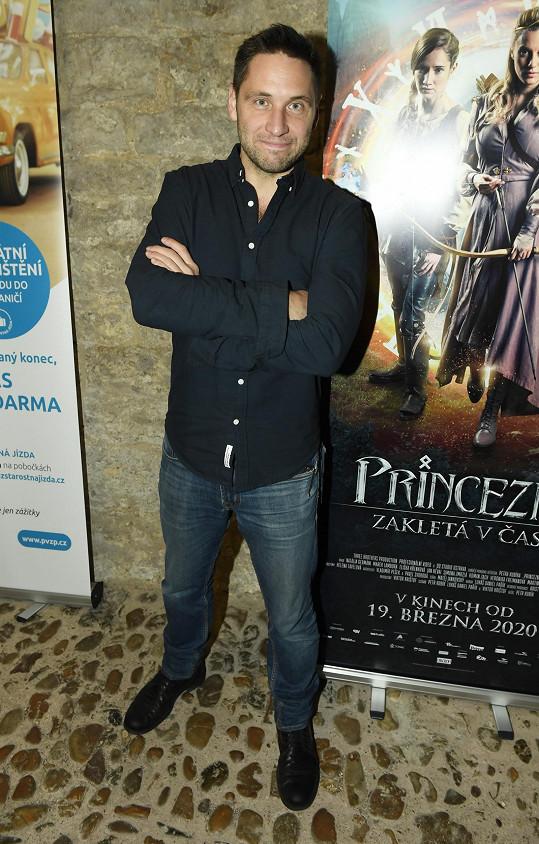 Martin na představení pohádky Princezna zakletá v čase
