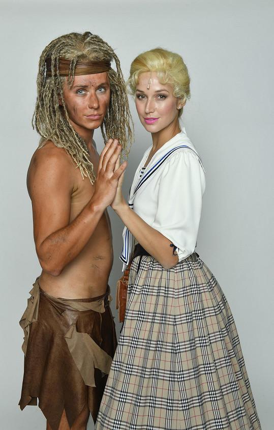 Takhle bude vypadat jako Tarzan.