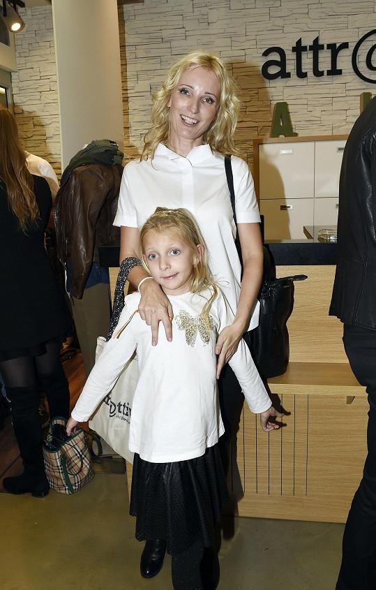 Petra s dcerou Margaritkou