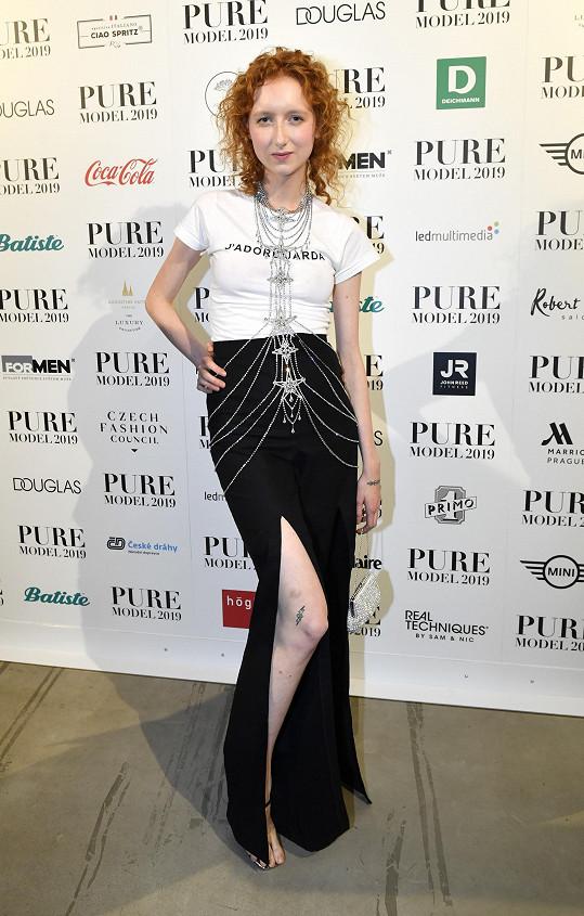 Barbora před dvěma roky bodovala ve finále soutěže Pure Model, od té doby je na roztrhání.