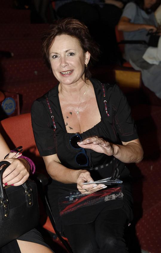 Ilona Svobodová v divadle