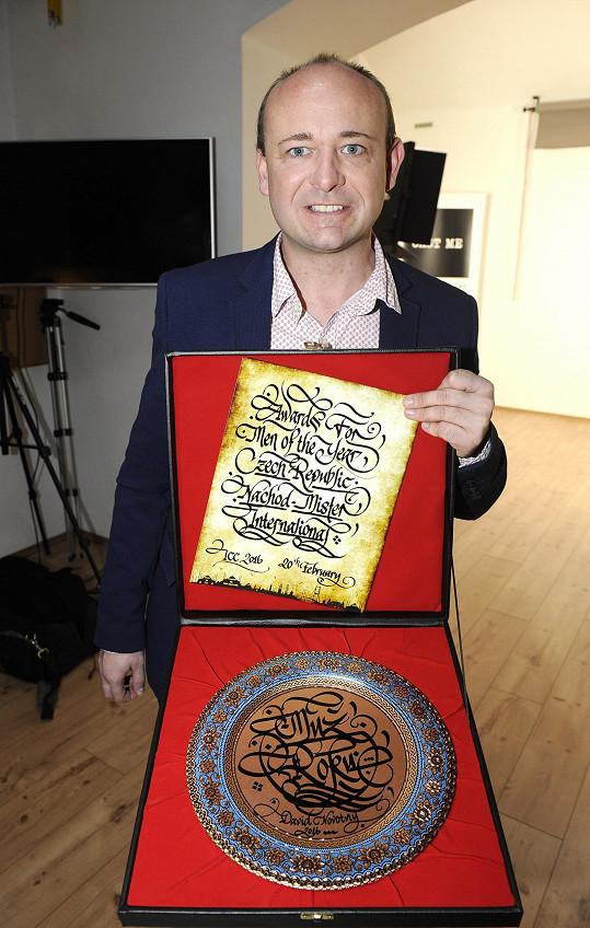 Ten se pochlubil mezinárodním oceněním soutěže.