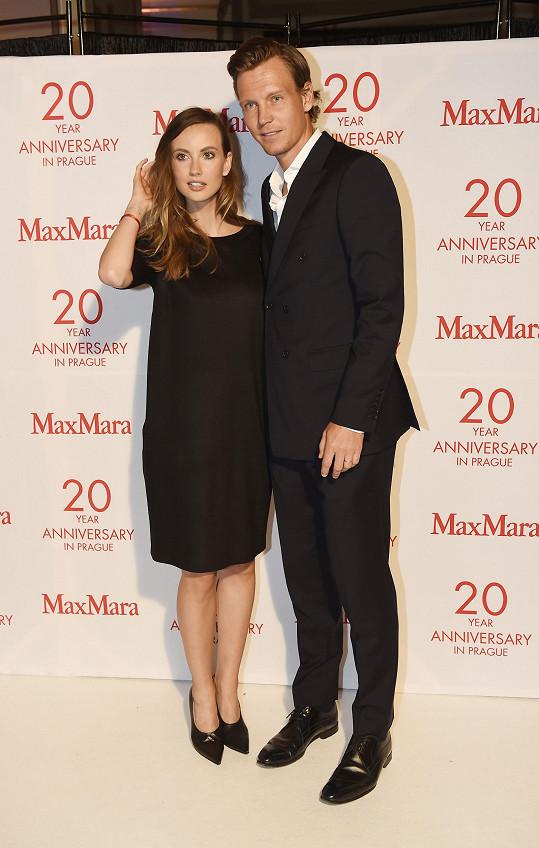 Podívat se na ni přišel i manžel Tomáš Berdych.