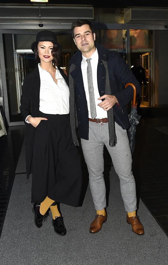 Monika a Martin se snažili dodržet dress code.