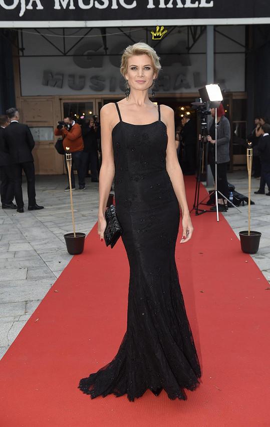 Dokonale vypadala moderátorka Iveta Vítová.