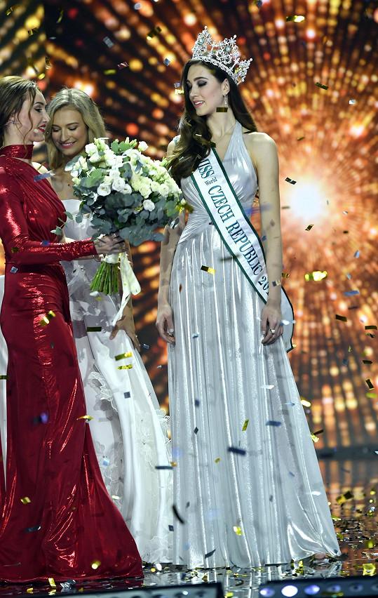 Letos se stala vítězkou soutěže krásy Miss Czech Republic.