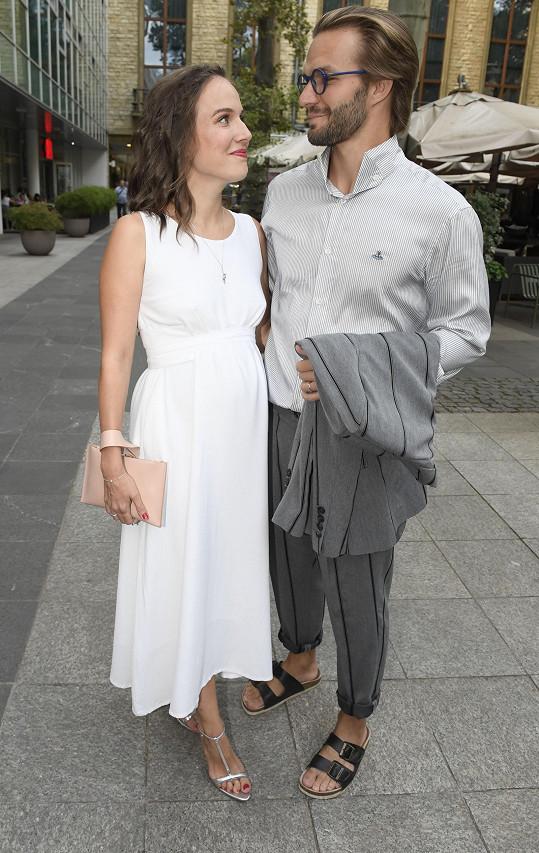 S manželem, tanečníkem, akrobatem a choreografem Matyášem Rambou