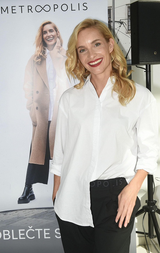 Hana Vagnerová se stala tváří módní kolekce.