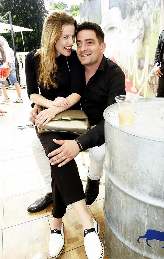 S přítelem Sašou Kopkou