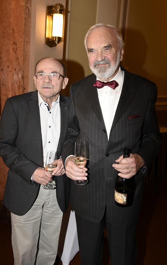 Jaroslav Uhlíř a Zdeněk Svěrák spolupracují už víc jak 50 let.