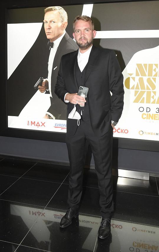 Libor Bouček uvedl premiéru nové bondovky.