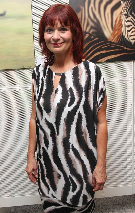 Ljuba Krbová vypadá ve svých šestapadesáti báječně.