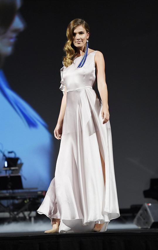 Andrea Bezděková na charitativní módní show
