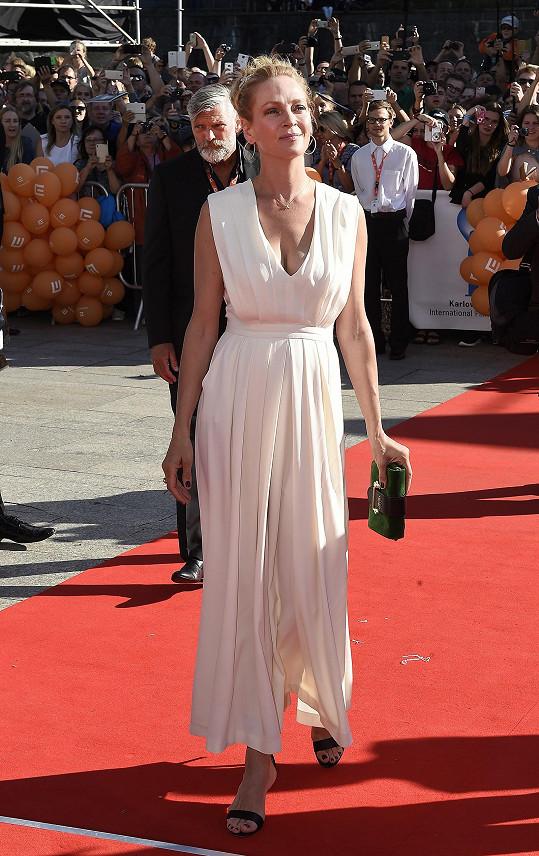 Uma Thurman nebyla zdaleka tak okouzlující jako česká kráska.