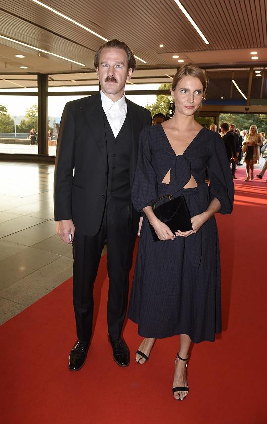 Stanislav Majer s přítelkyní