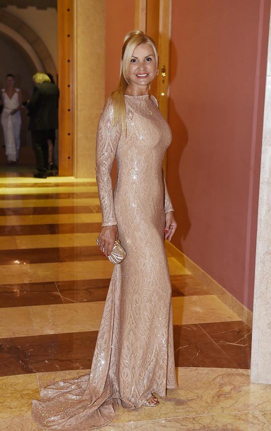 Tamara v modelu od Liběny Rochové