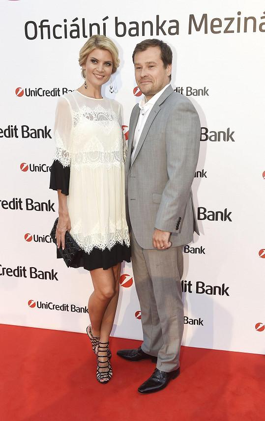 Moderátorka s manželem Jaroslavem