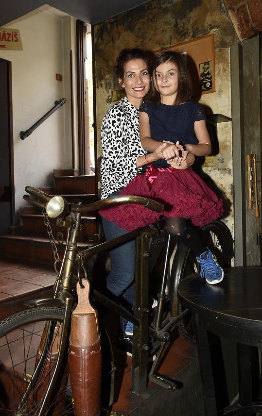 Eva Decastelo s dcerou Zuzankou