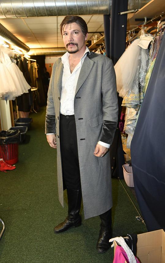 Bohuš se loučil s muzikálem Fantom opery, kde hrál roli milovníka Raoula.