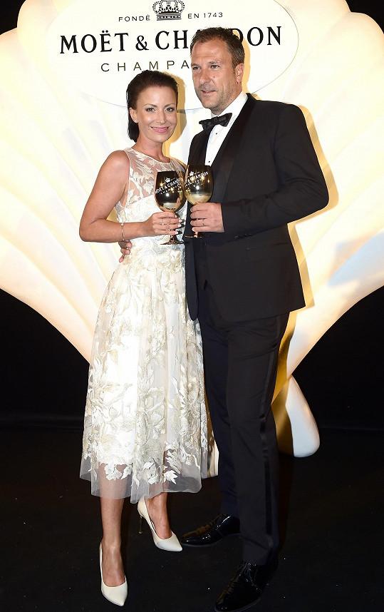 Gabriela Partyšová s manželem Danielem