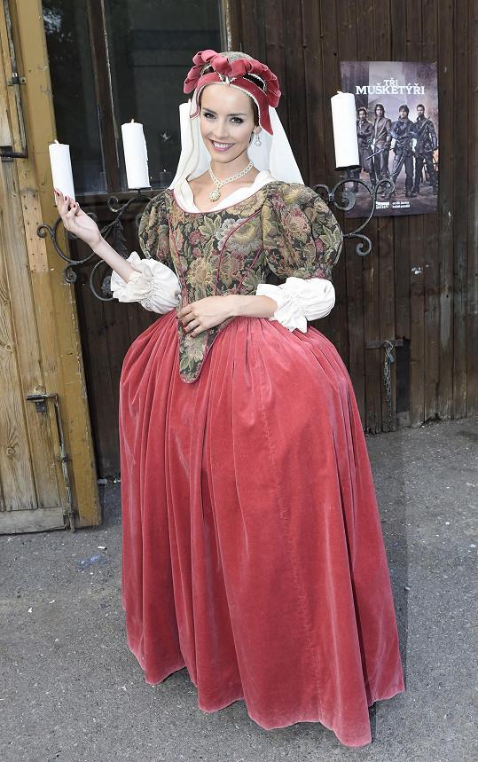 Gabriela Kratochvílová si historické kostýmy zamilovala.