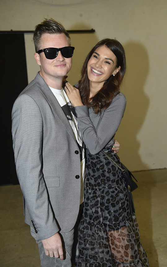 Andrea s přítelem Kamilem Bartoškem aka Kazmou