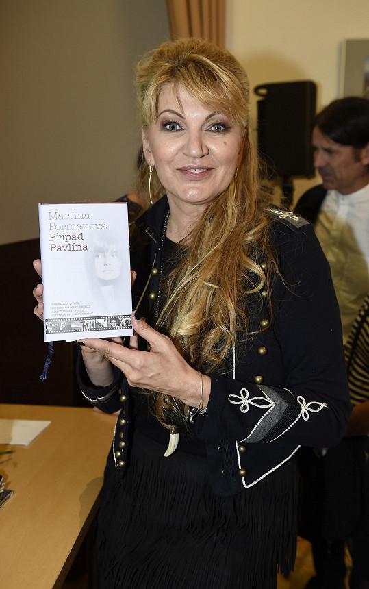 Martina Formanová pokřtila svou audioknihu.
