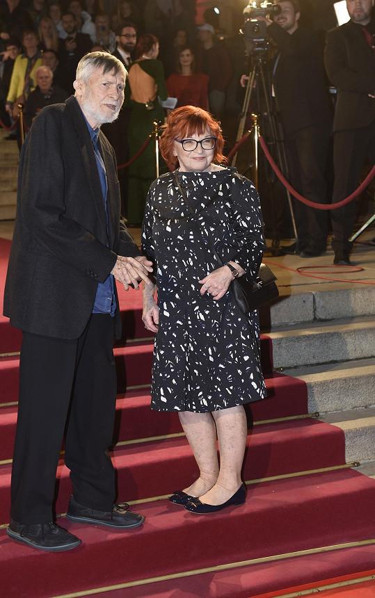 Jan Schmid s manželkou Janou Synkovou