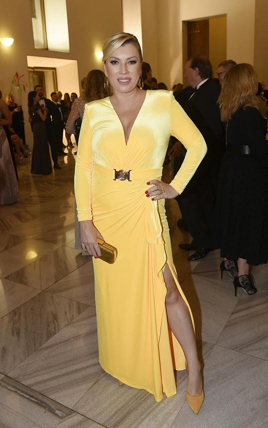 Na opulentní akci byla pozvaná také šéfka Fashion TV Gabriela Drobová.