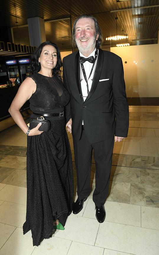 Bolek Polívka s manželkou Marcelou