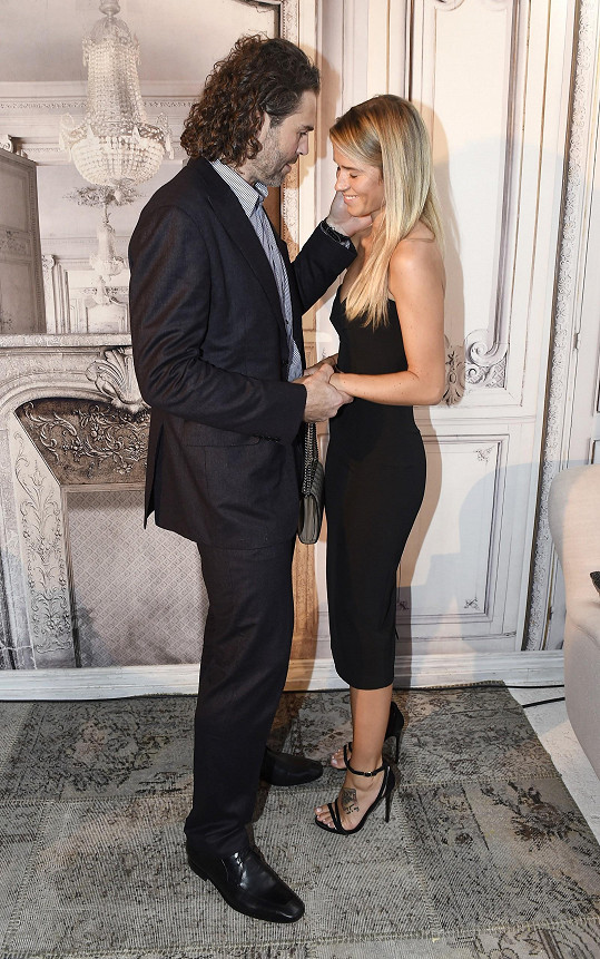 Jaromír Jágr a Veronika Kopřivová jsou spolu pořád šťastní.