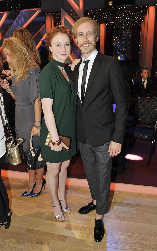 Marie s přítelem Markem Zelinkou, se kterým se dali dohromady během loňské StarDance.