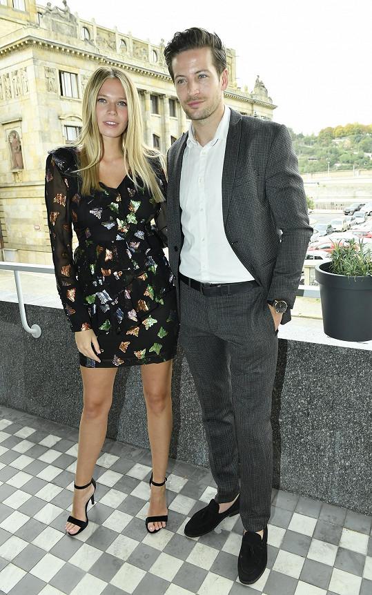 S modelkou Veronikou Krajplovou na vyhlášení castingů Miss & Mr. Look Bella. Oba jsou ambasadoři této soutěže krásy.