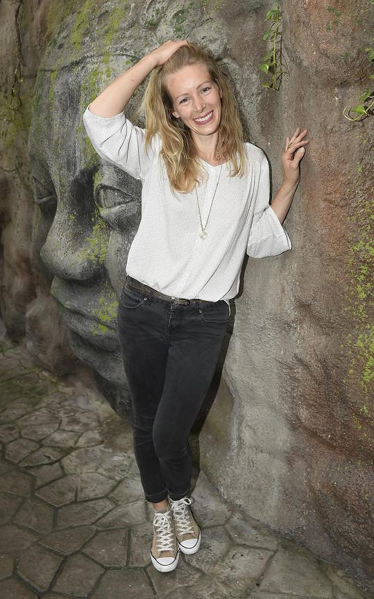 S herečkou Annou Kulovanou Lucie spolupracuje na nové hře.