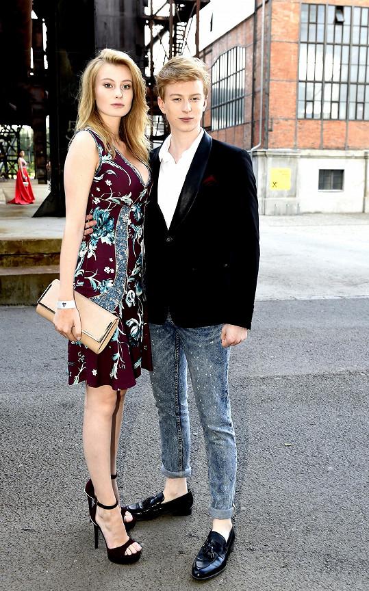 Nejdelší vztah měl s modelkou Dianou Kratochvílovou.