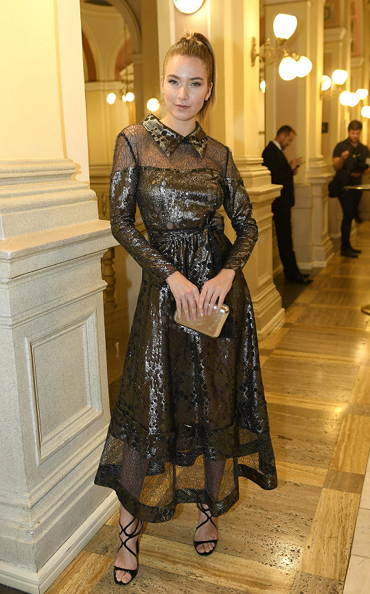 V modelu z Beatiny starší kolekce dorazila Andrea Bezděková.