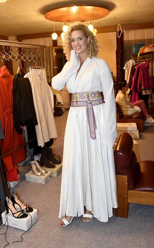 Na Píseckém víkendu módy a designu vynesla šaty.
