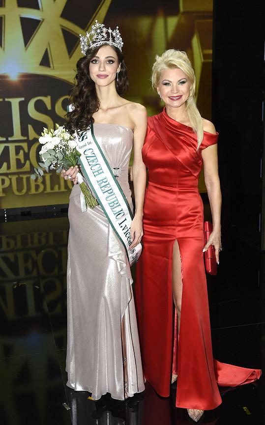 Natali si oblíbila 1. vicemiss Mariu Boichenko, která je stejně jako ona Ukrajinka.