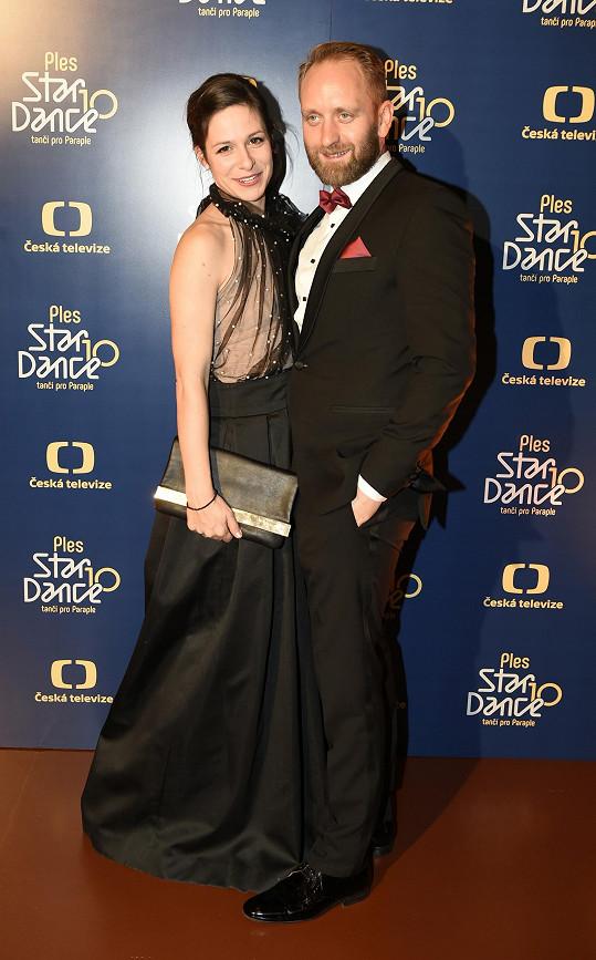 Veronika Kubařová s manželem Pavlem Khekem