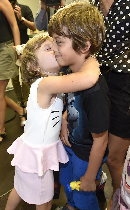 Eliška si oblíbila syna Evy Decastelo Michálka, který slavil sedmé narozeniny.