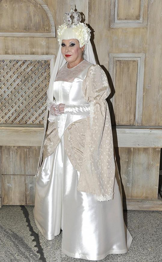 K nehodě došlo, když jela na představení Sněhová královna.