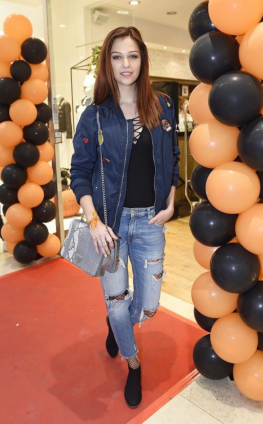 Lucie Kovandová se s partnerem po sedmi letech rozešla.