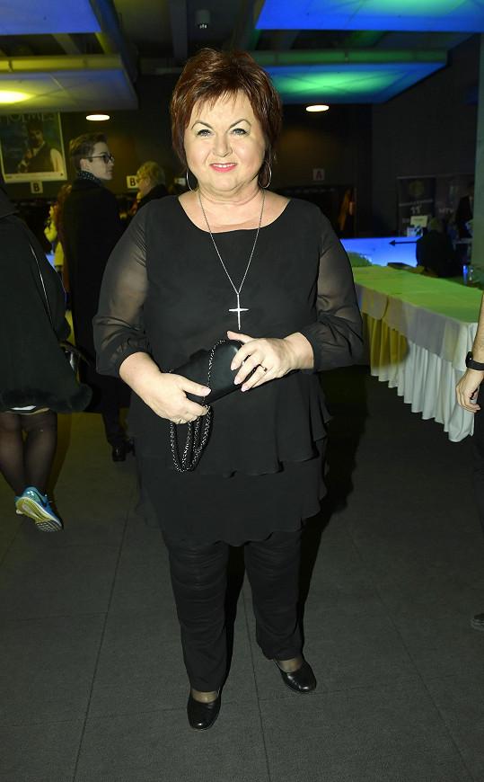 Hana Křížková vsadila s outfitem na jistotu.