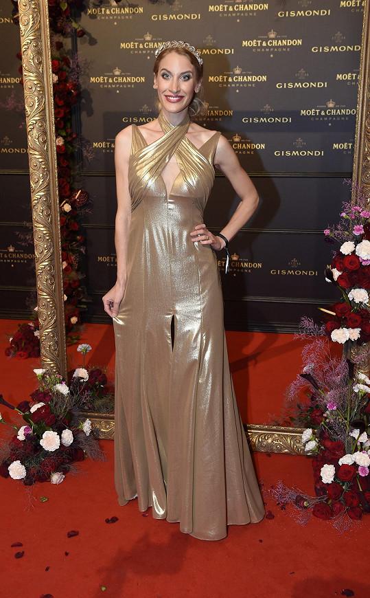 Marie Renčová měla model od Natali Ruden.