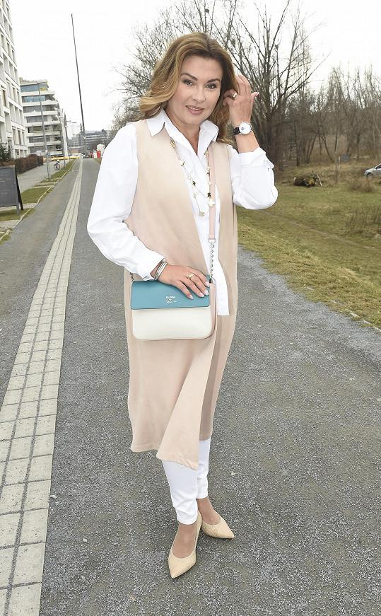 Dana Morávková neztrácí úsměv ani v těžké době.